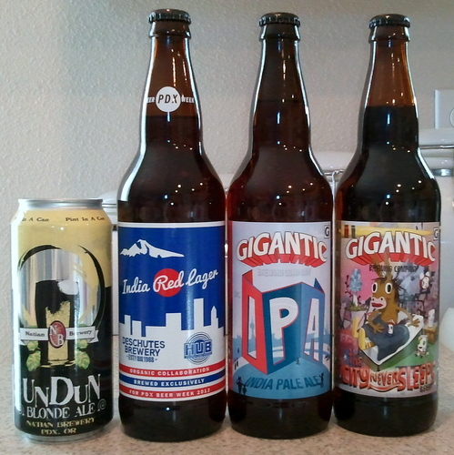 Portland weekend beer scores