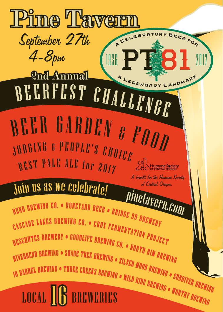 Pine Tavern PT81 Beerfest Challenge
