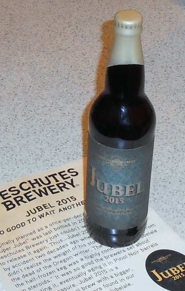 Deschutes Brewery Jubel 2015