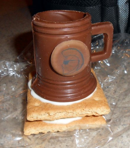 Shock Top chocolate mug s'more