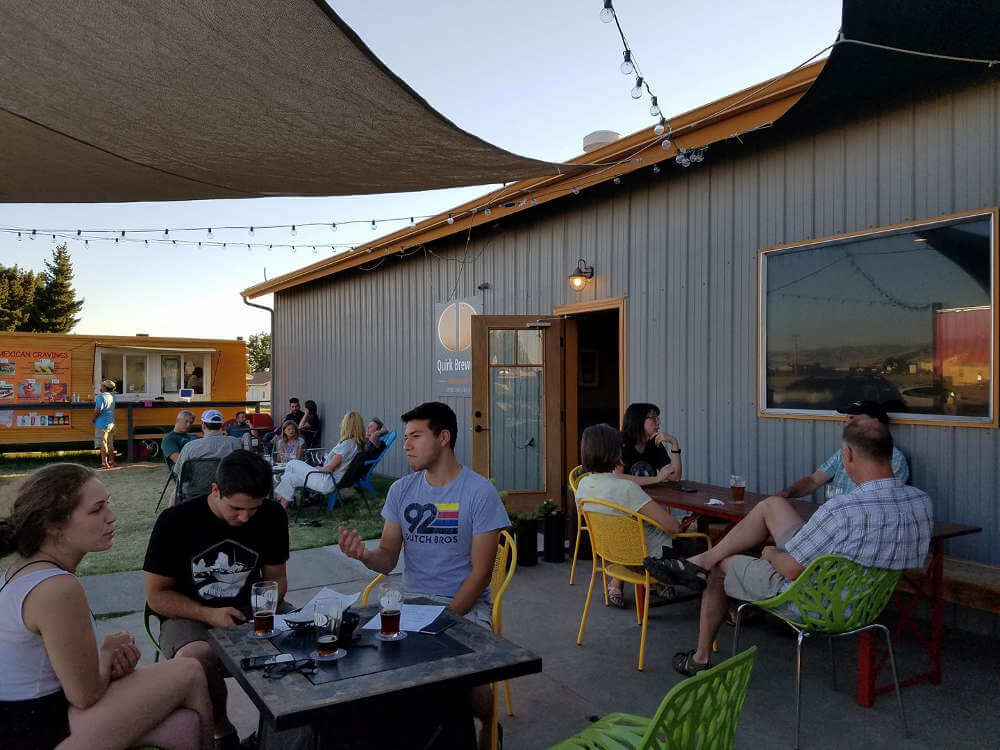 Quirk Brewery and Tasting Room (via Facebook)
