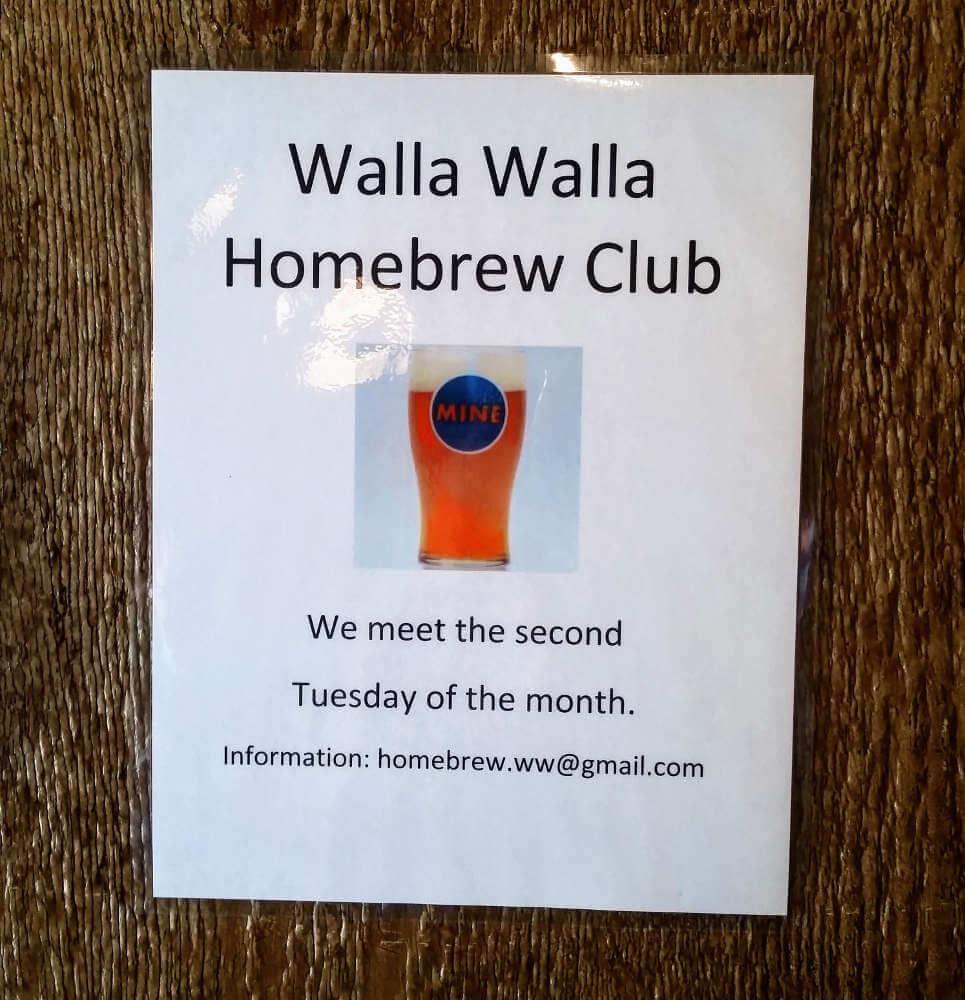 Quirk Brewing, Walla Walla Homebrewers