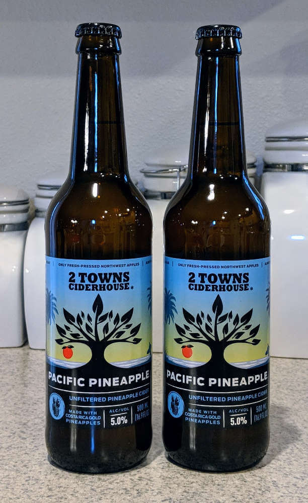 Received: 2 Towns Ciderhouse Pacific Pineapple