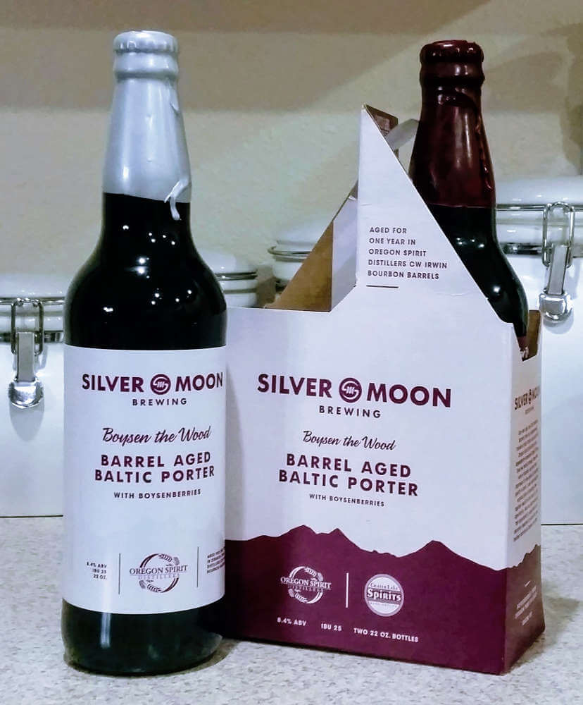 Received: Silver Moon Boysen the Wood