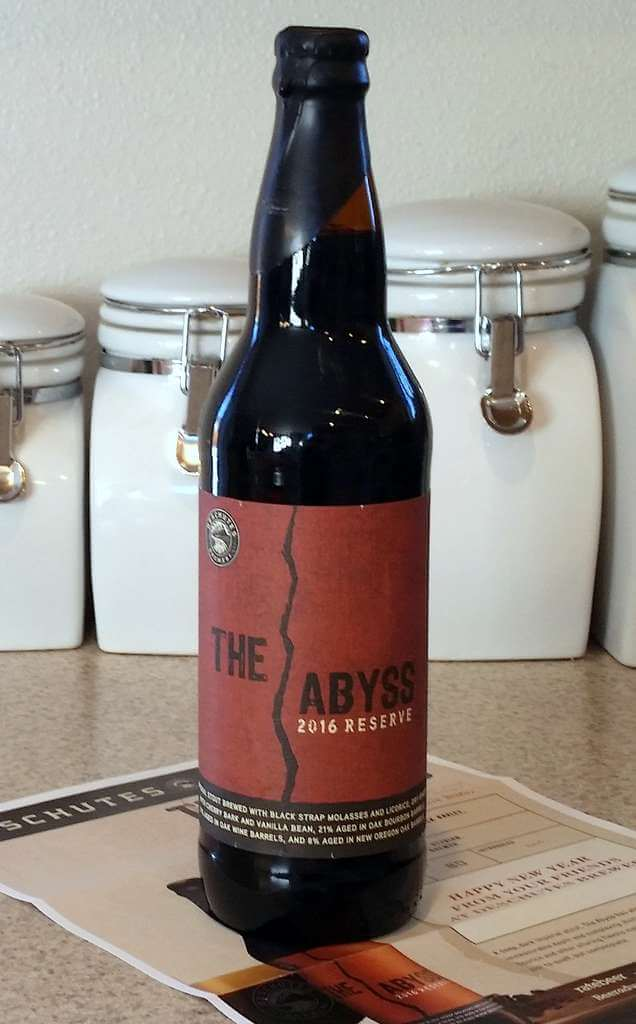 Received: Deschutes Brewery The Abyss 2016