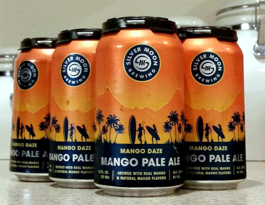 Received: Silver Moon Mango Daze Pale Ale