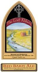 Red Barn Ale label