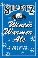 Siletz Winter Warmer Ale label