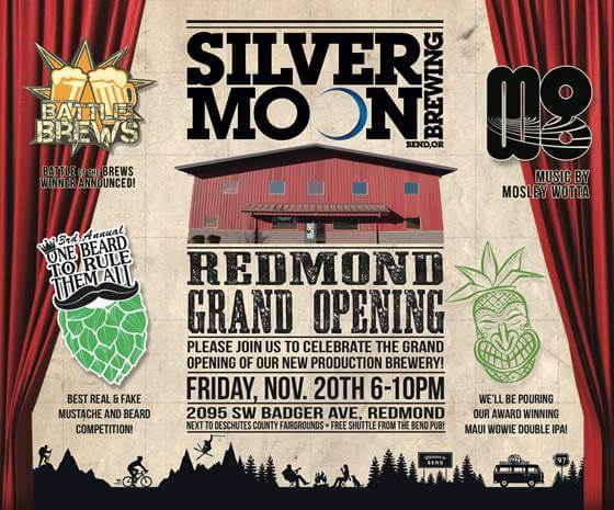 Silver Moon Brewing Redmond Grand Opening