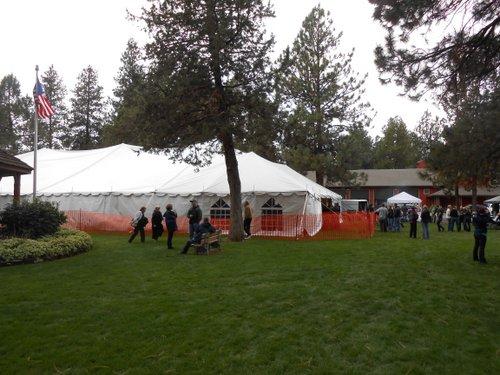 Sisters Fresh Hop Fest tent