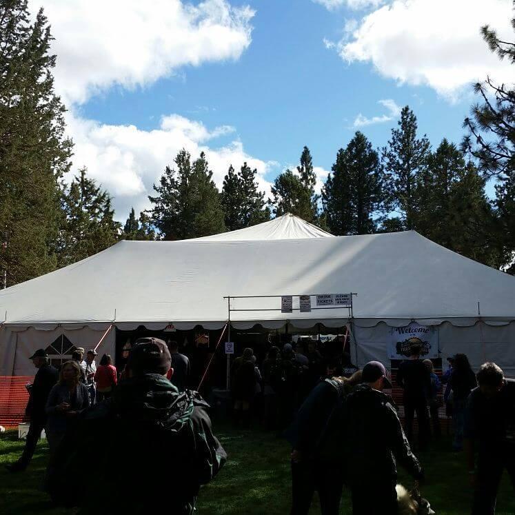 Sisters Fresh Hop Festival 2017 - main tent