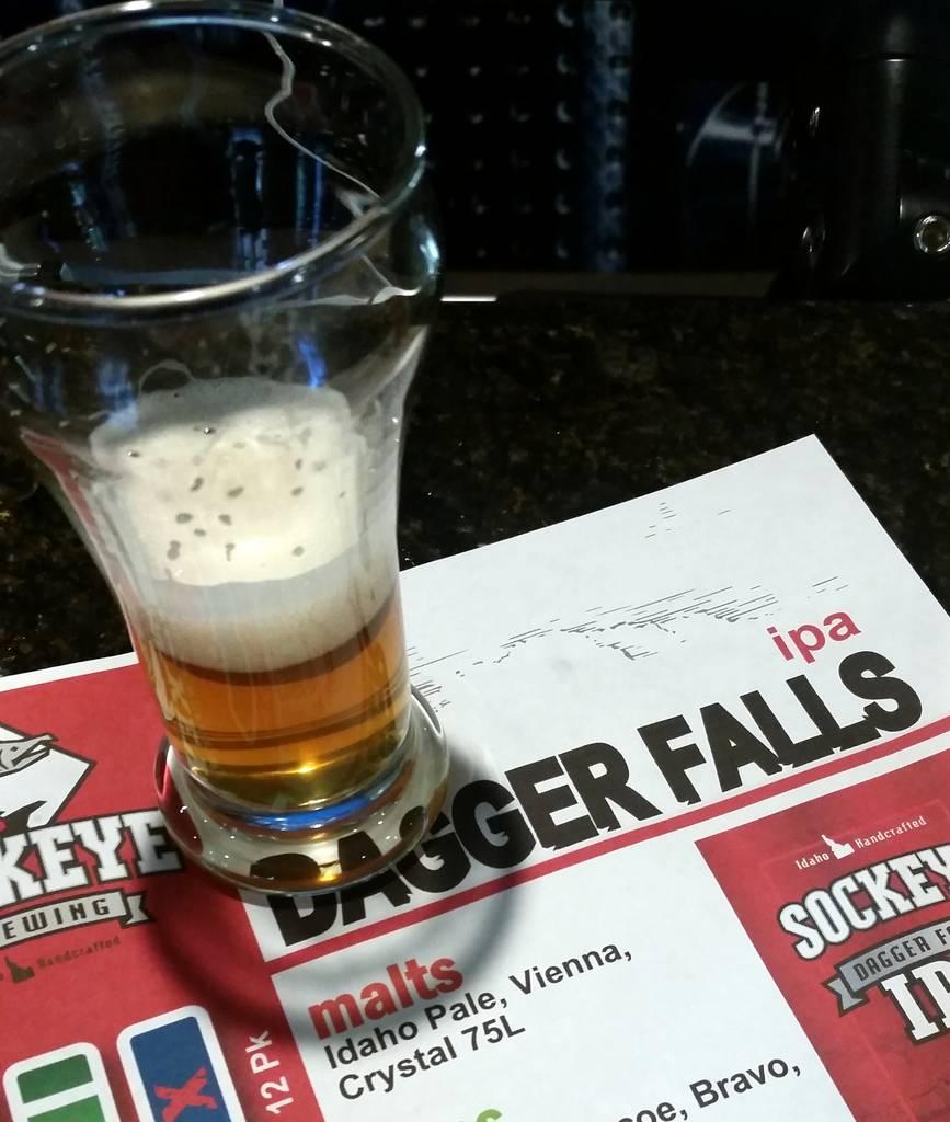 Sockeye Brewing Dagger Falls IPA