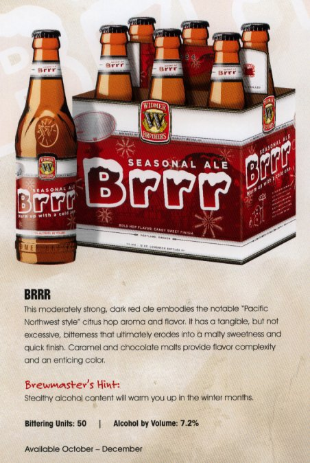 "Widmer Press Kit booklet scan: ""Brrr"" seasonal"