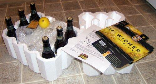 Widmer press kit packaging