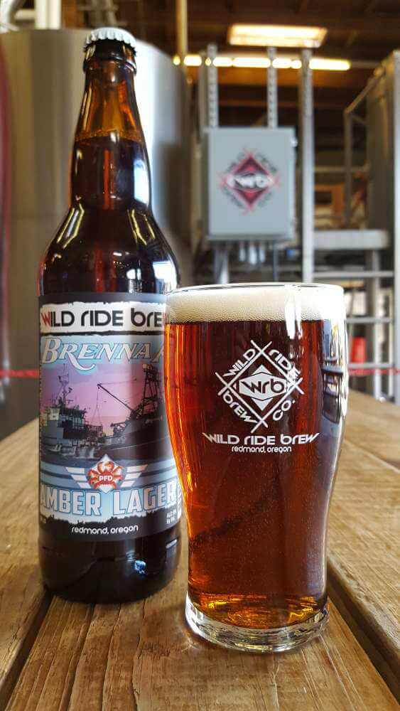 Wild Ride Brenna A Amber Lager