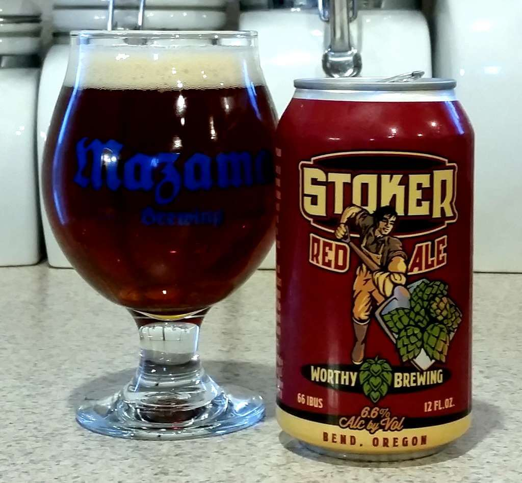 Worthy Brewing Stoker Red Ale