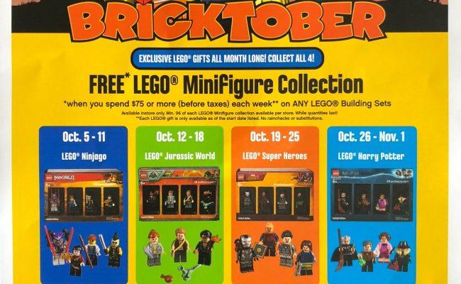 Lego Bricktober 2018 Toys R Us Canada Event Schedule The