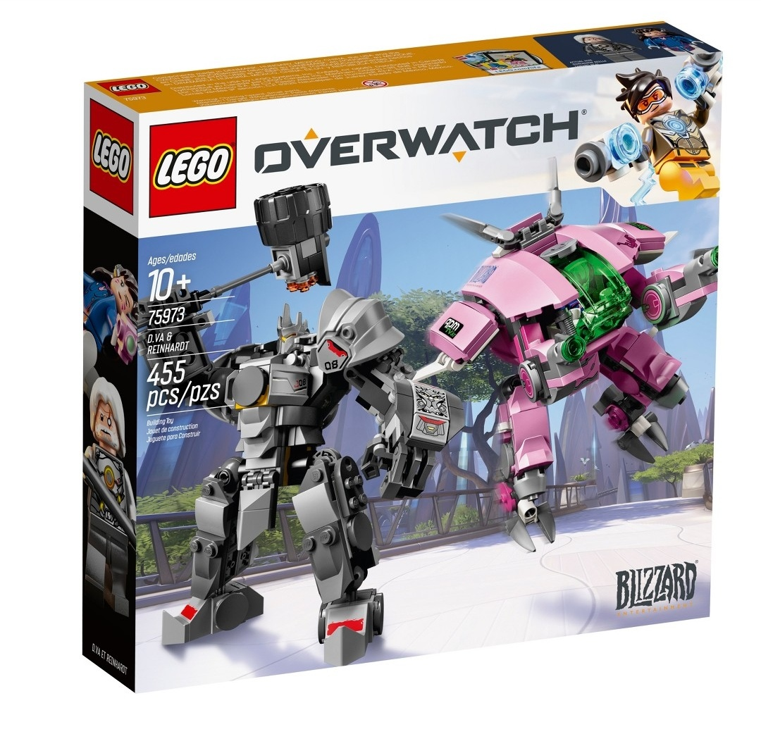 LEGO Overwatch Official Images Found At Target The Brick Fan