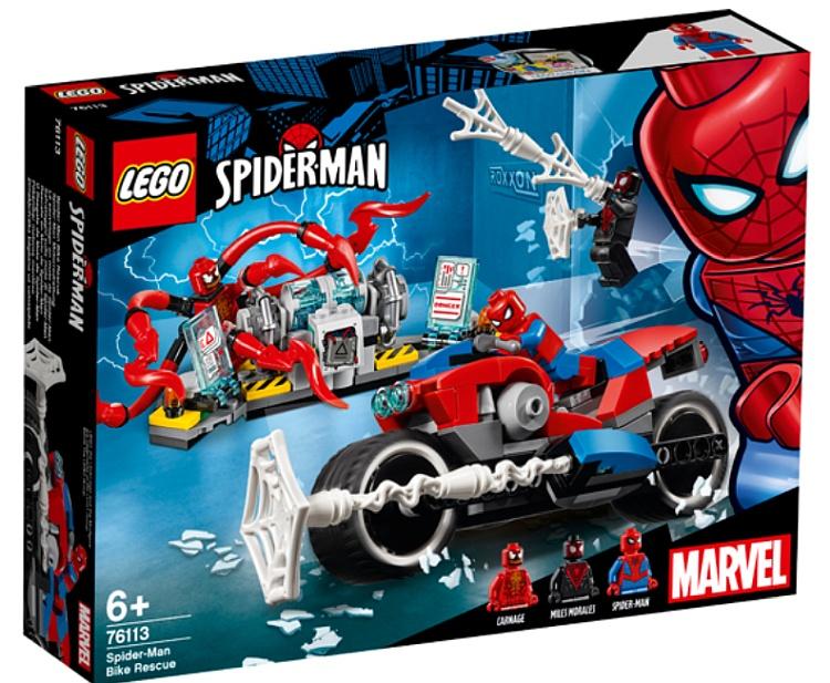 LEGO Marvel Super Heroes Spider Man 2019 Official Set