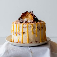 Kitchen Fluorescent Light Subway Tiles In Gluten-free Pineapple Coconut Cake With Passionfruit Curd ...