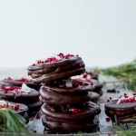 Coconut & Raspberry Wagon Wheels