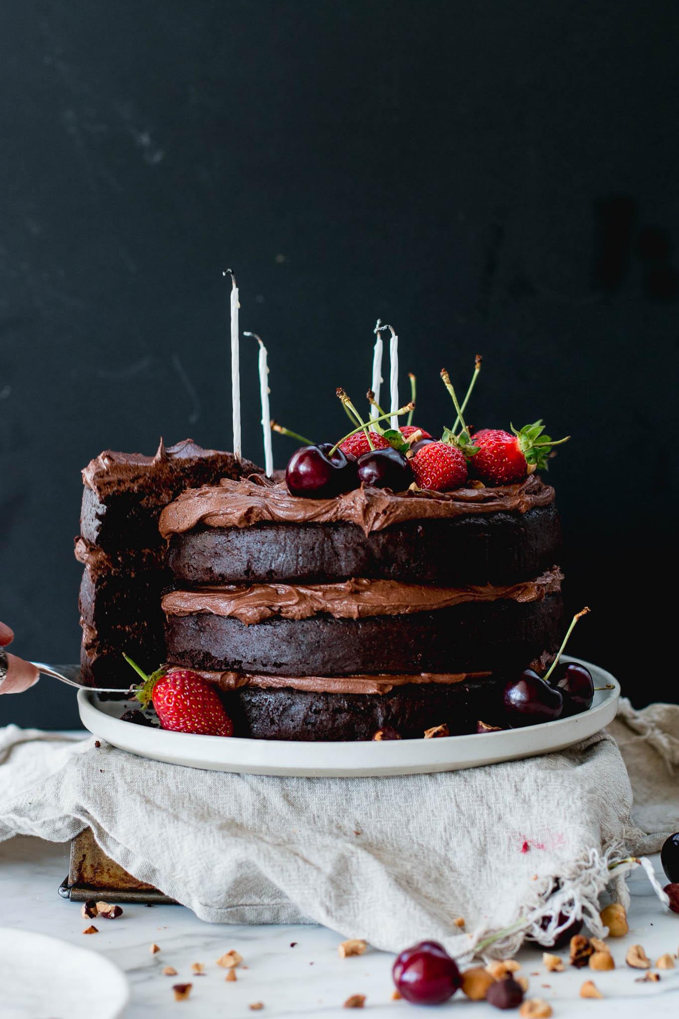 My Cafe Chocolate Cake With Hazelnuts : chocolate, hazelnuts, Flourless, Chocolate, Hazelnut, Layer, Brick, Kitchen