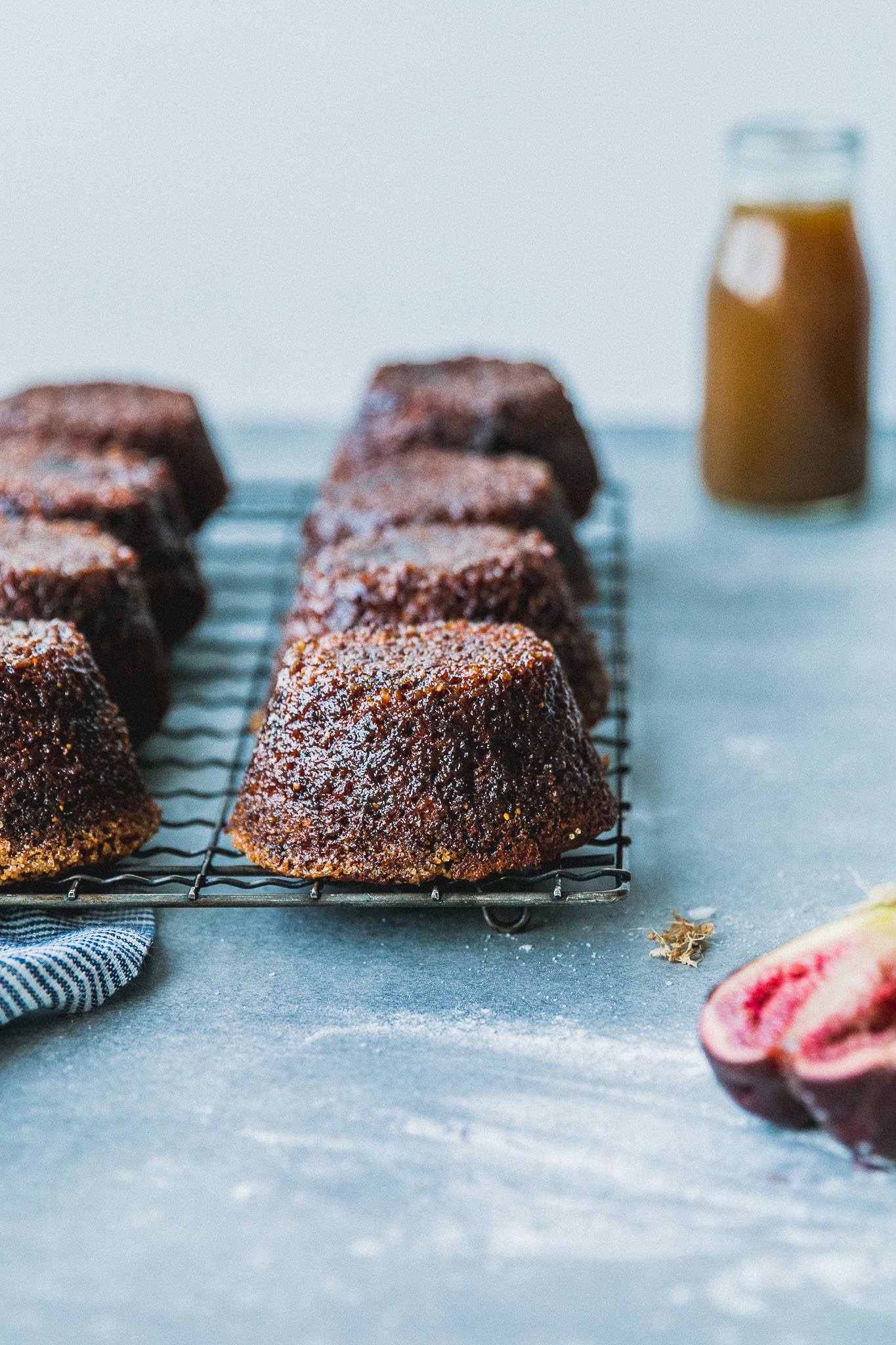 Sticky Fig & Ginger Puddings with Whisky Butterscotch Sauce | The ...