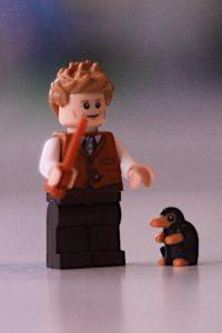 Lego Newt Scamander