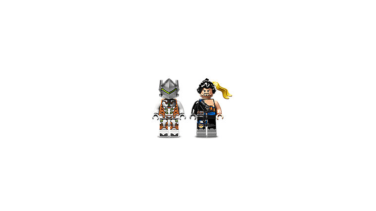 Hanzo and Genji LEGO Overwatch Minifigures