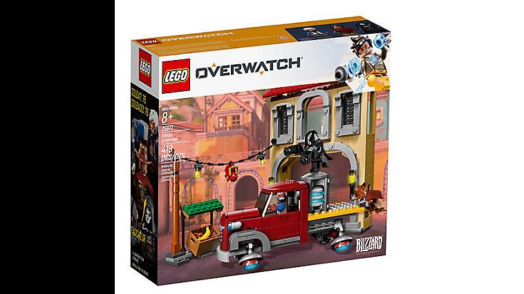Lego Overwatch Dorado Showdown official Box image