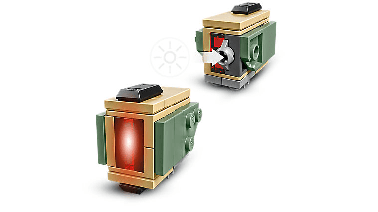 Lego Overwatch Bastion Light Elements