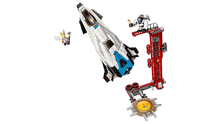 The Ship and Launch Tower for LEGO Overwatch Watchpoint Gibraltar
