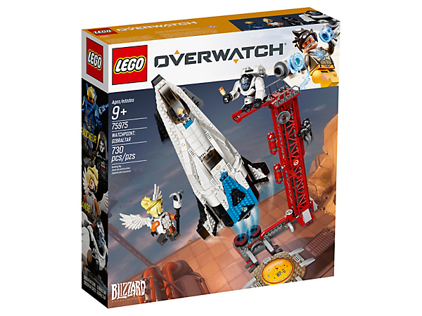 Official Box image of LEGO Overwatch Watchpoint:Gibraltar