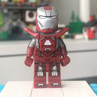Lego Silver Centurion IronMan Minifigure