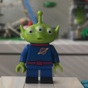 LEGO Disney Series 1 Alien Minifigure