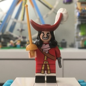 LEGO Disney Series 1 Captain Hook Minifigure