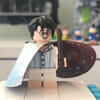 LEGO Harry Potter in Invisibility Cloak Minifigure