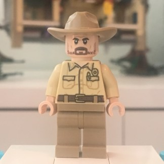 Lego Chief Jim Hopper Minifigure