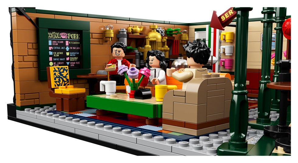 Lego Central Perk Couch from Friends
