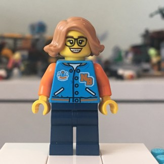 LEGO Paola Minifigure - Hidden Side