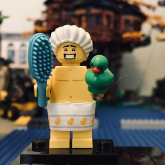 LEGO Shower Guy Minifigure