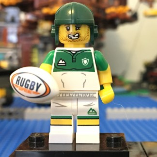 LEGO Rugby Player Minifigure