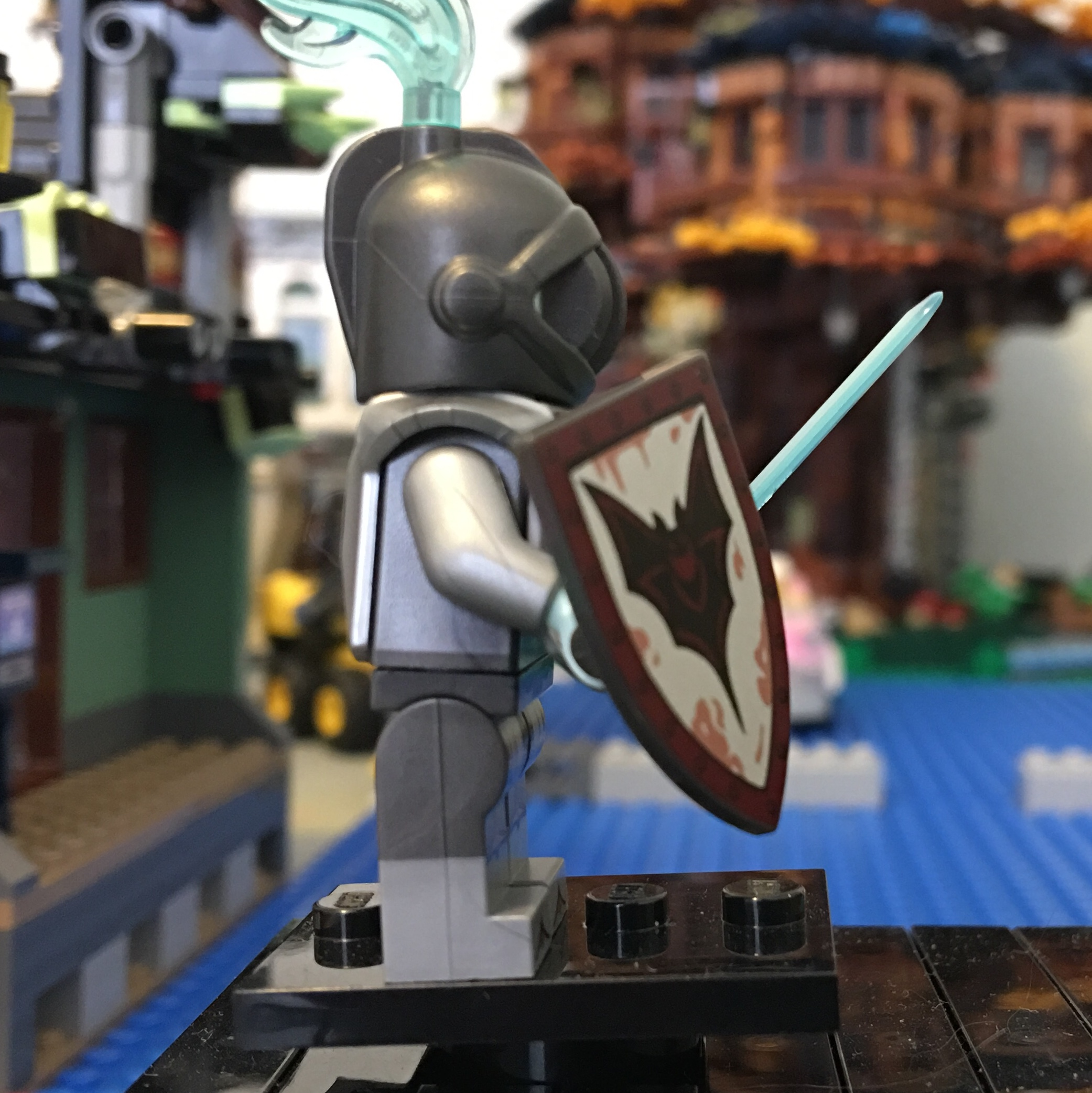 GHOST KNIGHT New Lego Minifigure From Series 19