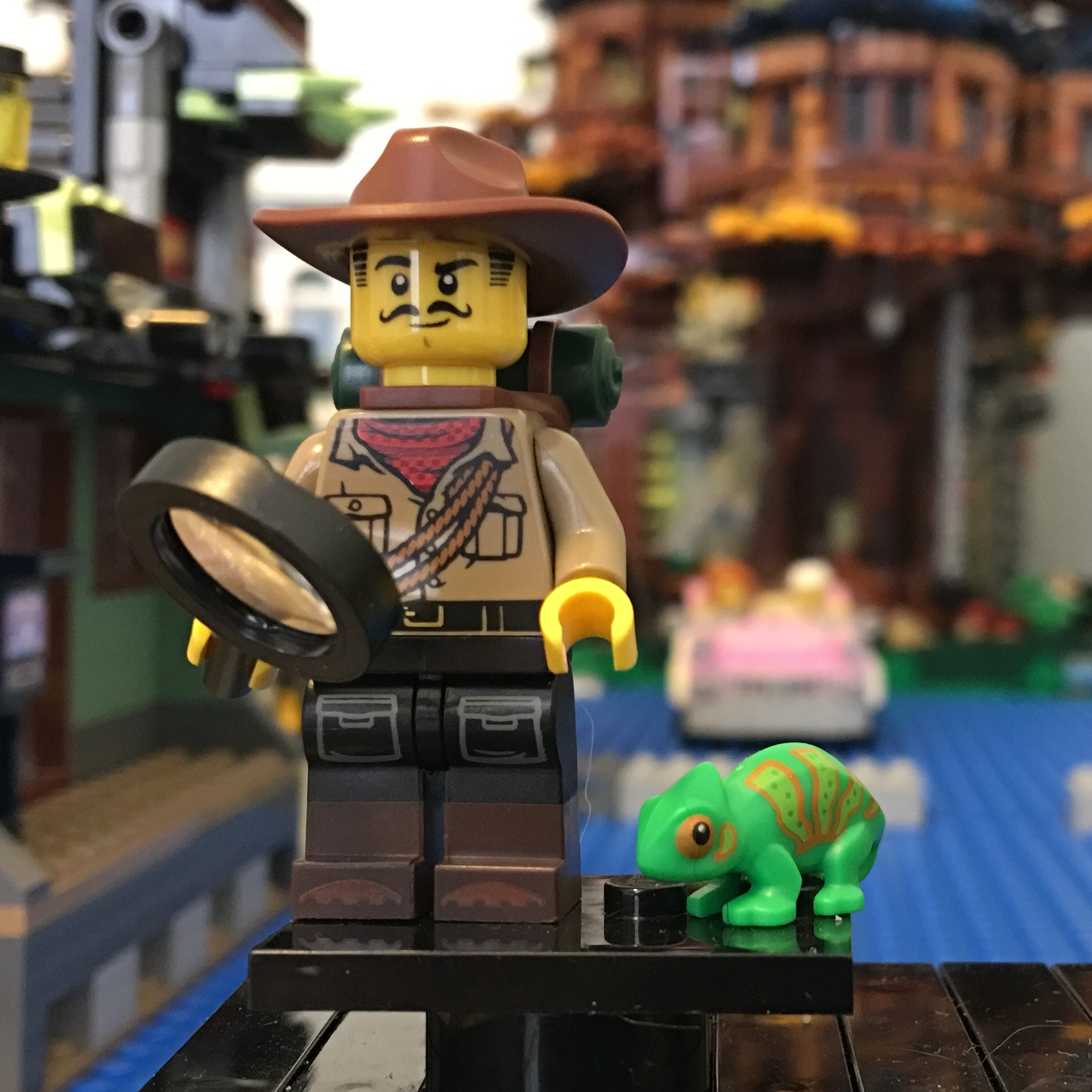 Jungle Explorer Minifig Lego Collectible Minifigures Series 19