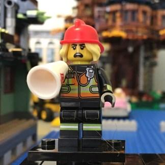 LEGO Female Firefighter Minifigure