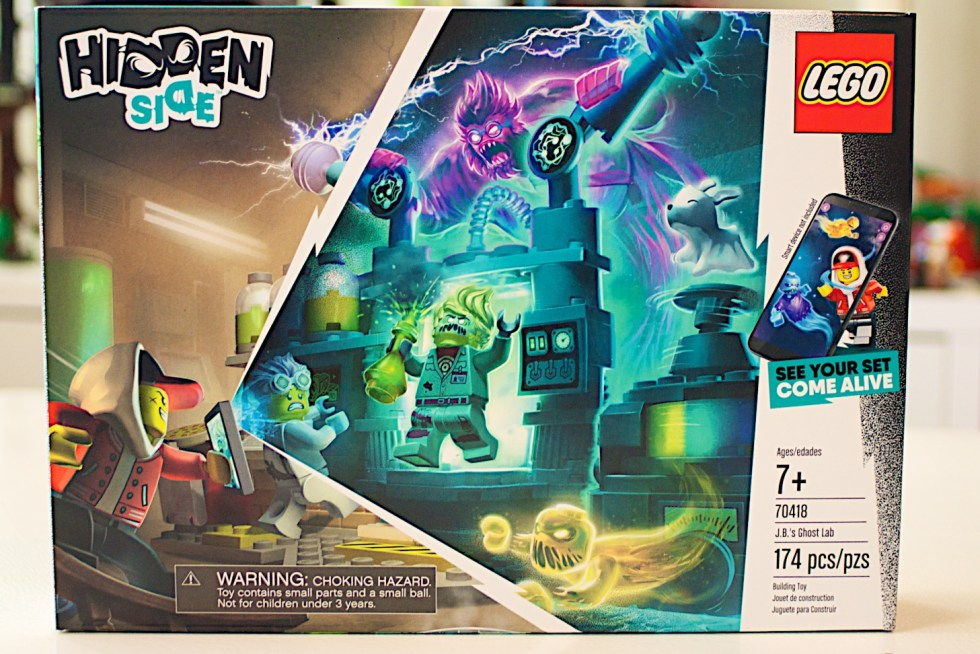 Box Front LEGO 70418 JB Ghost Lab Hidden Side