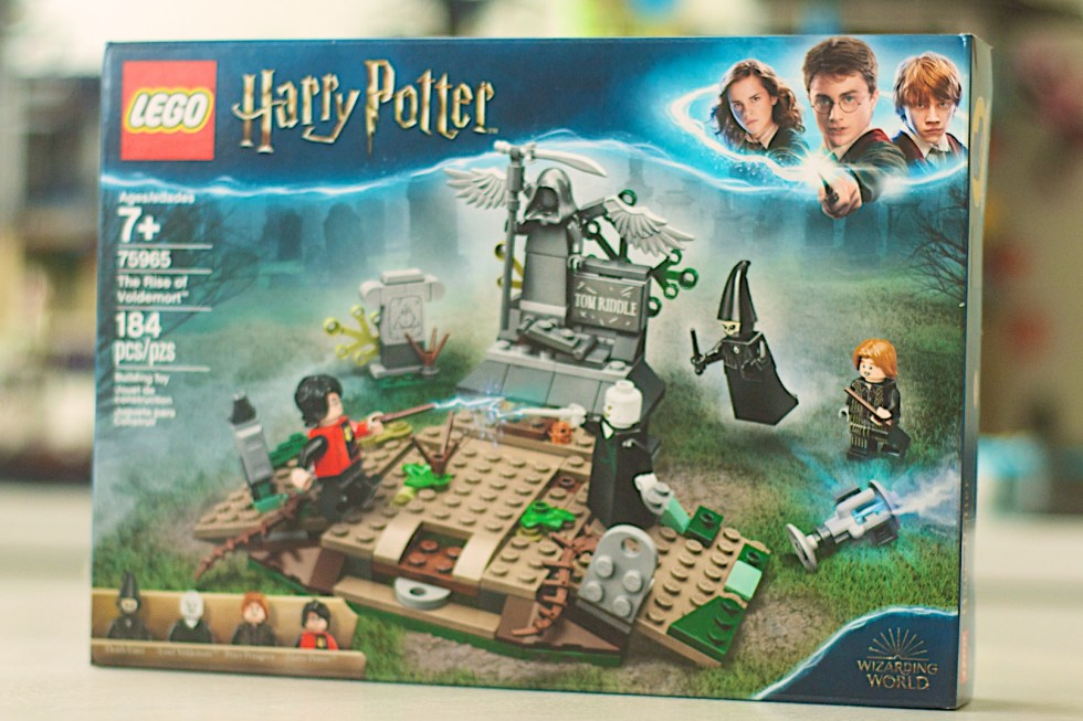 LEGO 75965 The Rise of Voldemort Box Front