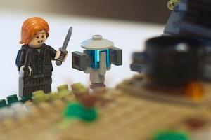 LEGO 75965 The Rise of Voldemort Wormwood Minifigure