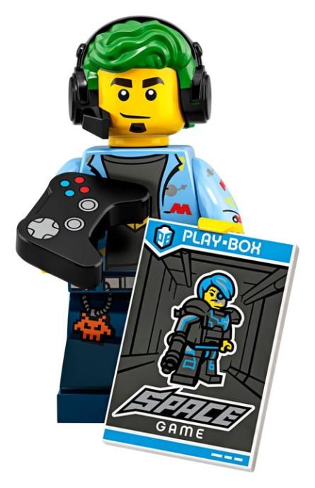 LEGO Series 19 Video Gamer Minifigure