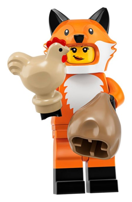 Lego 71025 Series 19 Fox Girl Minifigure
